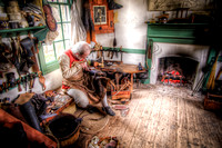 Colonial Williamsburg shoe maker